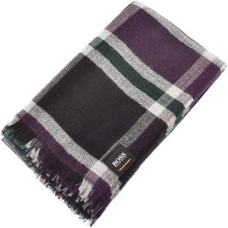 Boss Casual BOSS Casual Nein Checked Scarf Blue