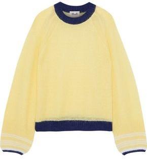 Baum und Pferdgarten Christine Striped Open-knit Sweater