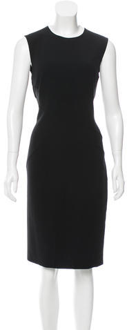MICHAEL Michael Kors Michael Kors Wool Midi Dress