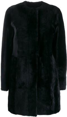 Drome fur midi coat