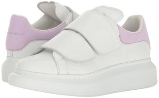 Alexander McQueen Hook and Loop Sneaker $575 thestylecure.com