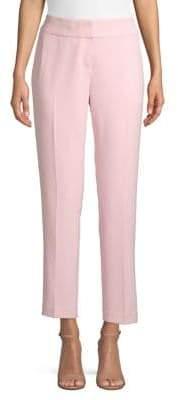 Kasper Suits Slim-Fit Crepe Pants