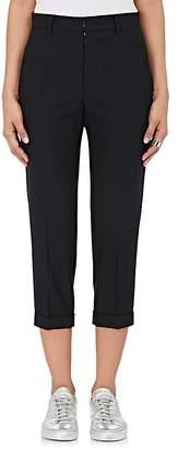 Yohji Yamamoto Regulation Women's Wool Twill Ankle Trousers