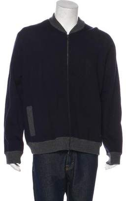 Vince Wool Zip Sweater