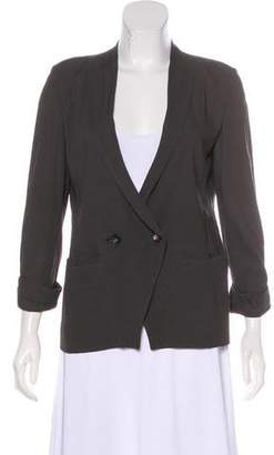 Helmut Lang Three-Quarter Sleeve Lightweight Blazer