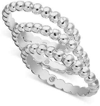 Alfani Multi-Tone 3-Pc. Set Bubble-Style Stacking Rings
