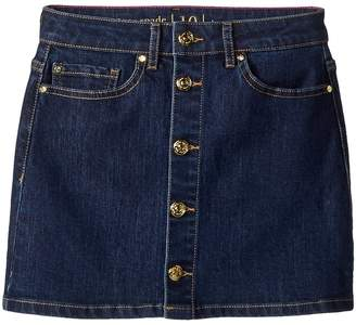 Kate Spade Kids Mini Skirt in Denim Indigo Girl's Skirt