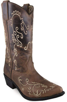 SMOKY MOUNTAIN Smoky Mountain Womens Cowboy Boots Pull-on