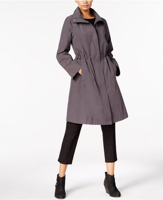 Eileen Fisher Stand-Collar Drawstring Jacket $298 thestylecure.com