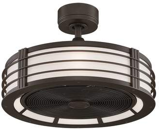 Pottery Barn Beckwith Ceiling Fan, Oil Rubbed Bronze