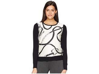 Lauren Ralph Lauren Vasinto Long Sleeve Sweater