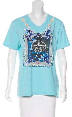 Just Cavalli Short Sleeve Graphic T-Shirt