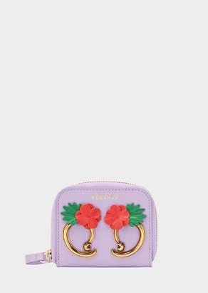 Versace Flower Barocco Coin Case