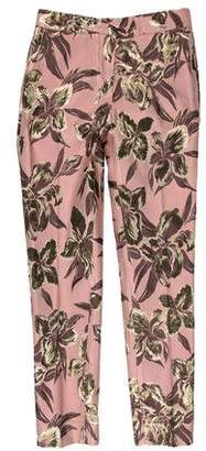 Christian Pellizzari Brocade Mid-Rise Pants