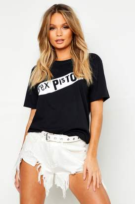 boohoo Sex Pistols License T-Shirt