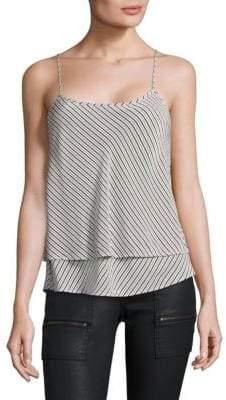 Joie Islaya Stripe Silk Tank Top