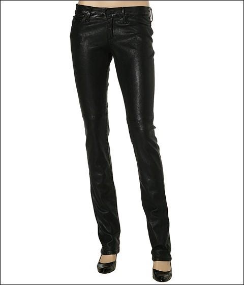 Gold Sign - Misfit Leather Jean (Black)