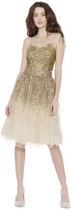 Alice + Olivia Catrina Embellished Midlength Skirt