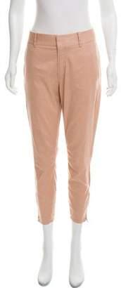 Helmut Lang HELMUT Mid-Rise Cropped Pants