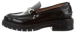Rag & Bone Embellished Patent Leather Loafers