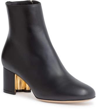 Salvatore Ferragamo Noceto 55 black ankle boots
