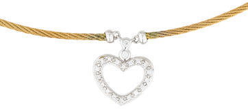 CharriolCharriol 18K Classique Diamond Heart Pendant Necklace