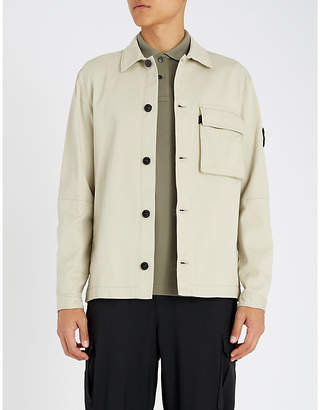 Stone Island Patch-pocket gabardine jacket