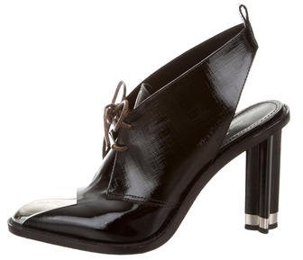 Louis Vuitton 2016 Cosplay Slingback Booties