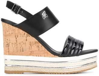 Hogan wedge heel sandals