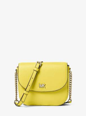 MICHAEL Michael Kors Mott Pebbled Leather Dome Crossbody Bag