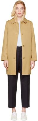 A.P.C. Beige Poupée Coat $510 thestylecure.com
