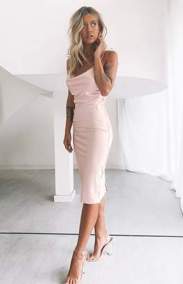 Calypso Bb Exclusive Midi Dress Blush