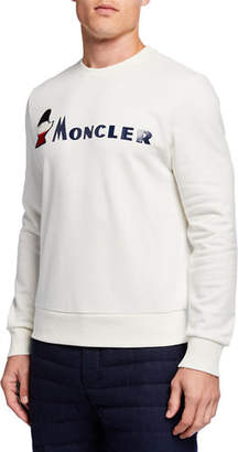 Moncler Men's Cashmere Sweater w/ Seaming Details