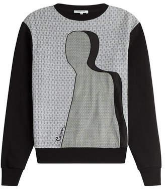Carven Printed Cotton Sweatshirt