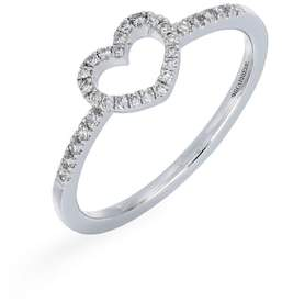 Carriere JEWELRY Open Heart Diamond Ring