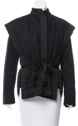 Isabel Marant Long Sleeve Quilted Jacket