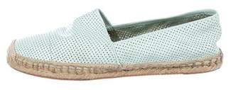 Rebecca Minkoff Leather Perforated Espadrilles