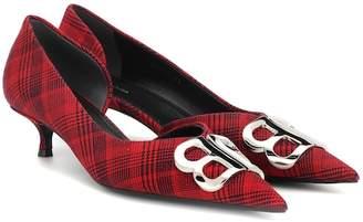30962e8e903 Red Plaid Heels - ShopStyle