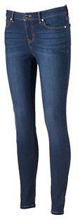 Women's Jennifer Lopez Sculpting Skinny Jeans $58 thestylecure.com
