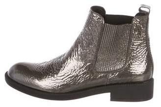 Pedro Garcia Metallic Chelsea Ankle Boots