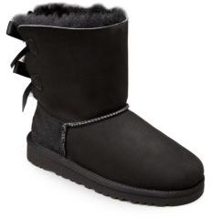 UGG Kid's Bailey Bow Boots $150 thestylecure.com
