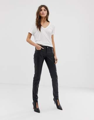 42897cb781 Womens Leather Pants Sale - ShopStyle