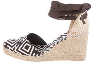 Tory Burch Espadrille Wedge Pumps