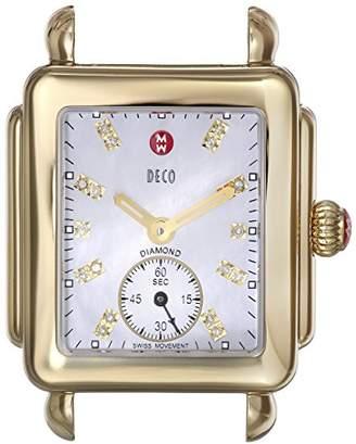 Michele Women's MW06V00A9046 Deco 16 Analog Display Swiss Quartz Watch Head