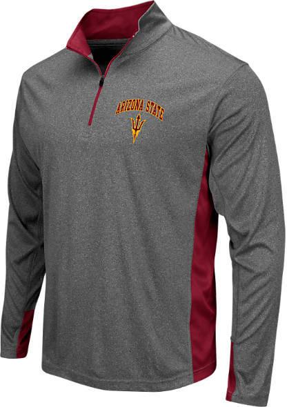 Men's Stadium Arizona State Sun Devils College Ridge 1/4-Zip Shirt