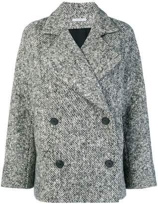 Dusan tweed buttoned coat