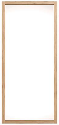 Ethnicraft Oak Light Frame Floor Mirror - Brown