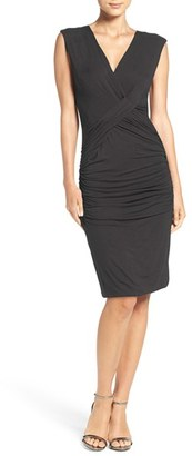 Women's Kut From The Kloth Draped Jersey Body-Con Dress $88 thestylecure.com