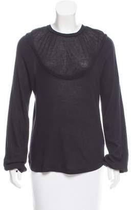 Veronique Branquinho Long Sleeve Crew Neck Top