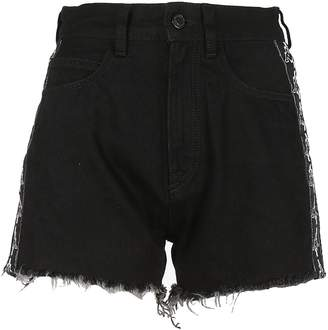 Marcelo Burlon County of Milan Fringed Shorts